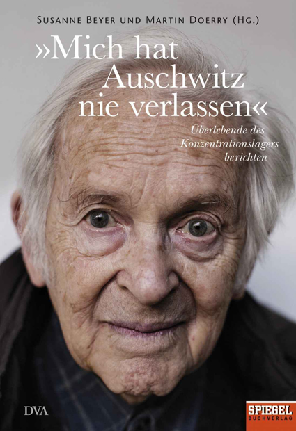 "Book cover ""Auschwitz never left me"""